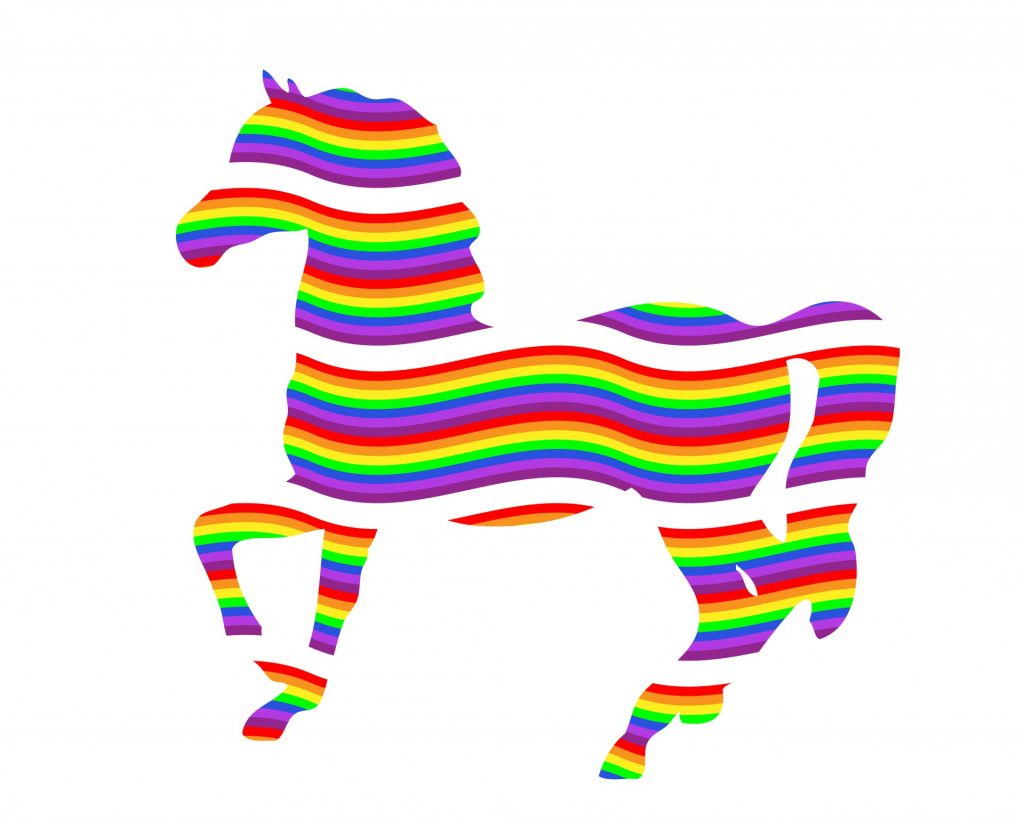 colorful-rainbow-horse